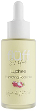 "Fragrances, Perfumes, Cosmetics Moisturizing Face Milk ""Lychee"" - Fluff Lychee Hydrating Face Milk"