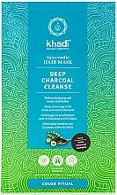 Fragrances, Perfumes, Cosmetics Alma Hair Mask - Khadi Deep Charcoal Cleanse Haar Maske