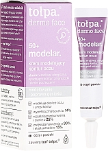 Fragrances, Perfumes, Cosmetics Eye Cream - Tolpa Dermo Face Modelar 50+ Eye Cream