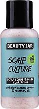 Fragrances, Perfumes, Cosmetics Cleansing Face Scrub & Mask - Beauty Jar Scalp Culture Scrub & Mask