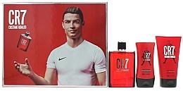 Fragrances, Perfumes, Cosmetics Cristiano Ronaldo CR7 - Set (edt/100m+sh/gel/150ml+ash/balm/100ml)