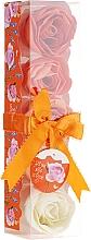 "Fragrances, Perfumes, Cosmetics Bath Confetti ""Orange"", 5 pcs - Spa Moments Bath Confetti Orange"