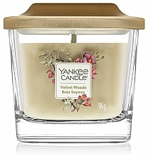 Fragrances, Perfumes, Cosmetics Scented Candle - Yankee Candle Elevation Velvet Woods