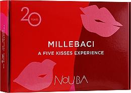 Fragrances, Perfumes, Cosmetics Set #1 - NoUBA Millebaci Box Set 5 Kisses Experience (lipstick/5x6ml)