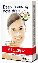 Fragrances, Perfumes, Cosmetics Cleansing Nose Strips - Purederm Deep Cleansing Nose Pore Strips
