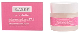 Fragrances, Perfumes, Cosmetics Anti-Wrinkle Strengthening Cream - Bella Aurora Age Solution Antiwrinkle And Firming SPF15