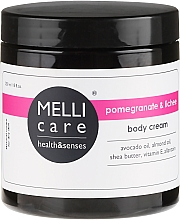 Fragrances, Perfumes, Cosmetics Body Cream - Melli Care Pomegranate&Lichee Body Cream