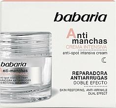 Fragrances, Perfumes, Cosmetics Intensive Anti Dark Spot Face Cream - Babaria Anti-Dark Spot Intensive Cream