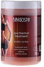 Fragrances, Perfumes, Cosmetics Anti-Cellulite Thermo Gel with Extratokm Gotu Kola - BingoSpa