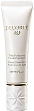 Fragrances, Perfumes, Cosmetics Concealer - Cosme Decorte AQ Tone Perfecting Cream Concealer