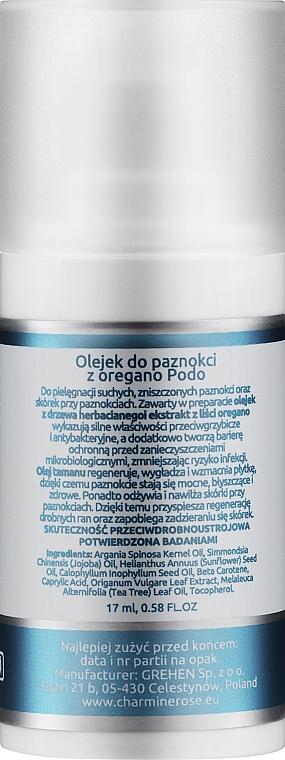 Oregano Nail Oil - Charmine Rose Charm Podo P51 — photo N2