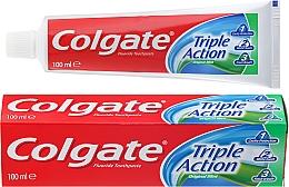 "Fragrances, Perfumes, Cosmetics Toothpaste ""Triple Action"" - Colgate Triple Action Original Mint"