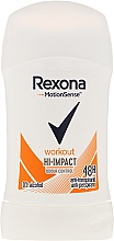 Fragrances, Perfumes, Cosmetics Deodorant Stick - Rexona Motionsense Workout Hi-impact 48h Anti-perspirant