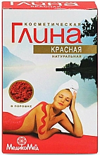 Fragrances, Perfumes, Cosmetics Cosmetic Red Clay - Medikomed