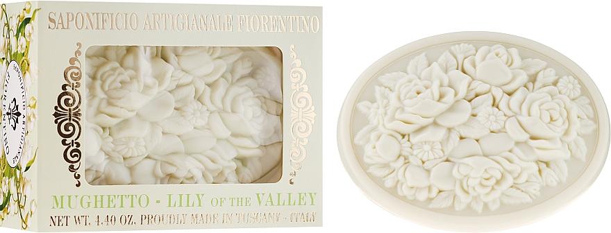 """Natural Soap """"Lily of the Valley"""" - Saponificio Artigianale Fiorentino Botticelli Lily Of The Valley Soap"""