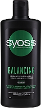 Fragrances, Perfumes, Cosmetics Ginseng Shampoo for All Hair & Scalp Types - Syoss Balancing Ginseng Shampoo