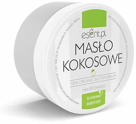 Organic Coconut Oil, unrefined - Esent