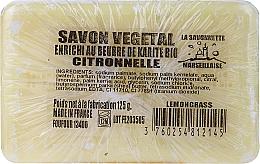 """Fragrances, Perfumes, Cosmetics Marseille Soap """"Lemongrass"""" - Foufour Savonnette Marseillaise Citronnelle"""
