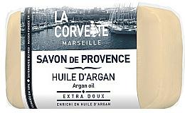 "Fragrances, Perfumes, Cosmetics Provence Soap ""Argan Oil"" - La Corvette Provence Soap Argan Oil"