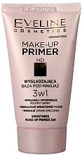 Fragrances, Perfumes, Cosmetics Makeup Base - Eveline Cosmetics Smoothing Make-up Primer 3v1
