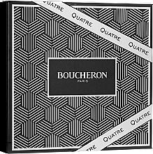 Fragrances, Perfumes, Cosmetics Boucheron Quatre Boucheron Pour Homme - Set (edt/100ml + ash/balm/100ml + sh/gel/100ml)