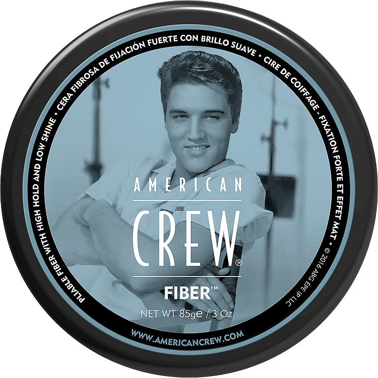 Strong Hold Hair Styling Paste - American Crew Classic Fiber