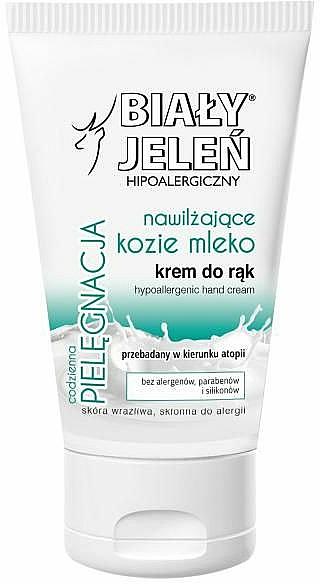 Hypoallergenic Hand Cream with Goat Milk - Bialy Jelen Hypoallergenic Hand Cream