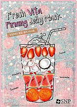 Fragrances, Perfumes, Cosmetics Firming Face Mask - SNP Fresh Vita Firming Jelly Mask