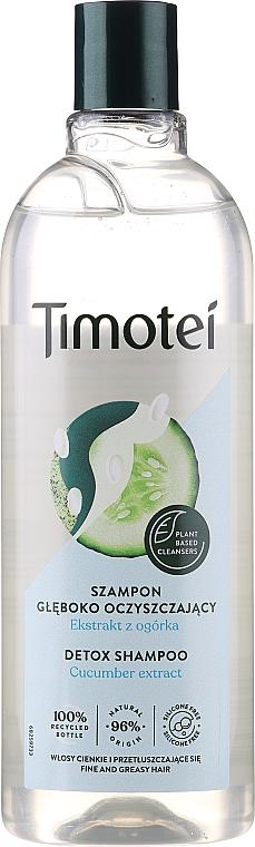 "Hair Shampoo ""Detox Care"" - Timotei Detox Fresh Shampoo"