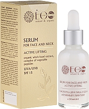 """Fragrances, Perfumes, Cosmetics Face and Neck Serum """"Active Lifting"""" - ECO Laboratorie Natural & Organic"""
