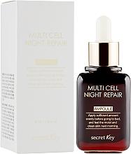 Fragrances, Perfumes, Cosmetics Night Serum - Secret Key Multi Cell Night Repair Ampoule