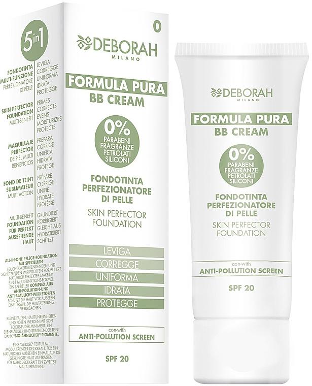 BB-Cream - Deborah Milano Formula Pura BB Cream 5in1