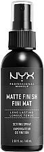 Fragrances, Perfumes, Cosmetics Mattifying Makeup Setting Spray - NYX Professional Makeup Matte Finish Long Lasting Setting Spray
