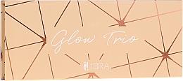 Fragrances, Perfumes, Cosmetics Highlighter Palette - Ibra Glow Trio