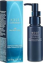 Fragrances, Perfumes, Cosmetics Moisturizing Emulsion - Kose Cellular Radiance Multi-Purpose Emulsion Hydrator