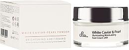 Fragrances, Perfumes, Cosmetics Brightening Face Cream - Sayaz Cosmetics White Caviar Illuminating Moisturizing Face Cream 24H