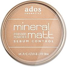 Fragrances, Perfumes, Cosmetics Face Powder - Ados MINERAL MATT
