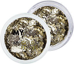 Fragrances, Perfumes, Cosmetics Nail Art Gold Flakes - MylaQ My Gold Flakes