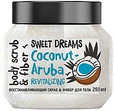 Fragrances, Perfumes, Cosmetics Revitalizing Body Scrub - MonoLove Bio Coconut-Aruba Revitalizing Body Scrub