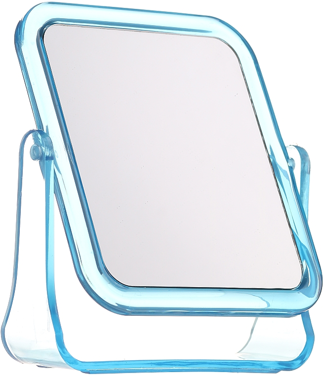 Square Cosmetic Mirror, 5282, blue - Top Choice — photo N1