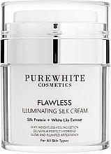 Fragrances, Perfumes, Cosmetics Illuminating Skin Cream - Pure White Cosmetics Flawless Illuminating Silk Cream