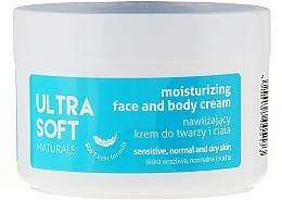 Fragrances, Perfumes, Cosmetics Moisturizing Face & Body Cream - Ultra Soft Naturals Moisturising Face and Body Cream