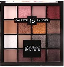 Fragrances, Perfumes, Cosmetics Eyeshdow Palette - Gabriella Salvete Palette 16 Shades II