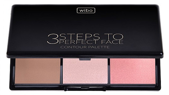 Face Contour Kit - Wibo 3 Steps to Perfect