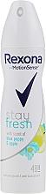Fragrances, Perfumes, Cosmetics Deodorant Spray - Rexona Blue Poppy & Apple Stay Fresh