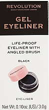 Fragrances, Perfumes, Cosmetics Eyeliner with Brush - Makeup Revolution Gel Eyeliner Pot With Brush