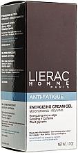 Fragrances, Perfumes, Cosmetics Energizing Gel-Cream - Lierac Homme Energizing Cream-Gel