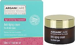 Fragrances, Perfumes, Cosmetics Anti-Wrinkle Strengthening Cream - Arganicare Shea Butter Anti Aging Cream