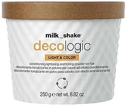 Fragrances, Perfumes, Cosmetics Lightening Powder - Milk Shake Decologic Light & Color Gold
