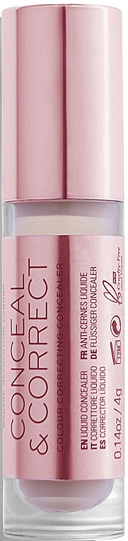 Face Concealer-Corrector - Makeup Revolution Conceal And Correct